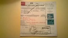 RICEVUTA BOLLETTINO POSTALE SVIZZERA 1965 -BELLUNO BOLLI VARI E PACCHI POSTALI - Storia Postale