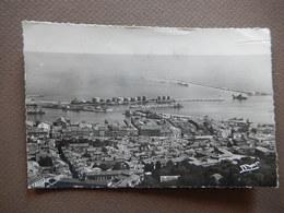 CPA - D34 - SETE - L'ENTREE DU PORT - AERIENNE - TIMBREE 1948 - PHOTO VERITABLE - R12136 - Sete (Cette)