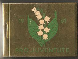 PRO JUVENTUTE 1961 ** SBK 90,- CHF - Carnets
