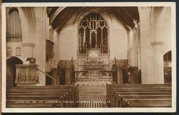°°° 10728 - UK - CLEVELEYS - INTERIOR OF ST. ANDREW'S PARISH CHURCH °°° - Inghilterra