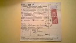 RICEVUTA BOLLETTINO POSTALE SVIZZERA 1965 SCHWYZ-BELLUNO BOLLI VARI E PACCHI POSTALI - Storia Postale