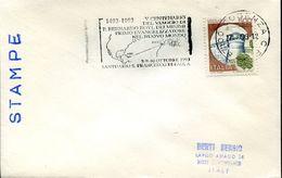 30460 Italia,special Postmark Cosenza 1993,bernardo Boyl The First Evangelizator Of The First World,francesco Di Paola - Christianisme