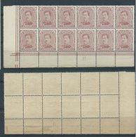 140C En  Bloc De 12 Timbres - Neuf Sans Charnière - 1915-1920 Albert I