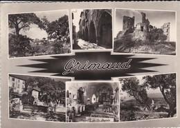 83-----GRIMAUD--souvenir Multivues--( La Capitale Historique Des Maures )--voir 2 Scans - Francia