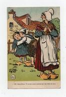 CPA Illustrateur Griff Paysans Enfants Oh! Doux Jésus Y Va êtes Aussi Coureux Qu' Son Chien De Père - Griff