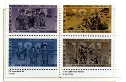 PIA  -  Canada  -  1991  : 50° Anniversario Della Seconda Guerra Mondiale -   (Yv 1218-25) - 1952-.... Regno Di Elizabeth II