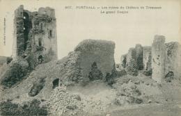29 PLOUDALMEZEAU / Portsall - Les Ruines Du Château De Tremazan / - Ploudalmézeau
