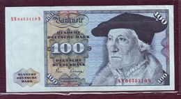 ALLEMAGNE RFA - 100 Deutsche Marks - Sébastien Munster - 02/01/1980 - P.34d - [ 7] 1949-… : FRG - Fed. Rep. Of Germany