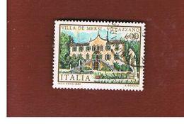 ITALIA REPUBBLICA  - SASS. 1735 -      1985  VILLED' ITALIA: DE MERSI      -      USATO - 6. 1946-.. República