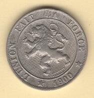 Belgique. Léopold II °. 5 Cent 1900 FR (1). Morin # 250. TTB - 1865-1909: Leopold II