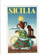 SICILIA Assessorato Turismo Spettacolo Danseuse Sicilienne Orange Citron Poisson Artass Croe Bozzanca Figlio SIRACUSA - Siracusa