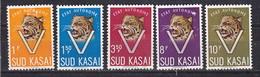 Sud Kasaï - Zuid Kasaï Nr 20-24  Neufs - Postfris - MNH  (XX) - South-Kasaï