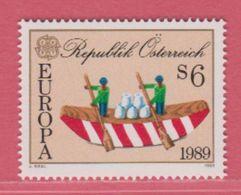 1989 ** (sans Charn., MNH, Postfrish)  Yv  1777Mi  1956ANK 1987 - 1981-90 Unused Stamps