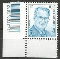 Belgium - 2000 King Albert II MNH **    Sc 1753 - Unused Stamps