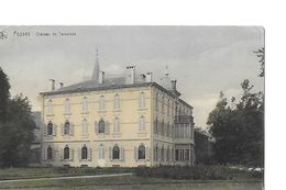1 Cpa Fosses. Château De Taravisée. - Fosses-la-Ville