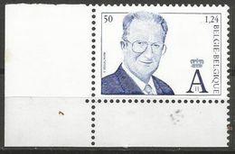 Belgium - 2000 King Albert II MNH **    Sc 1766 - Unused Stamps