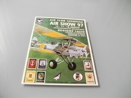 AEREO AIR CLUB LEONESSA AIR SHOW 97  AVIOSUPERFICIE SELVAPIANA LAZIO  RIETI - 1946-....: Era Moderna