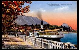 PORTO VALTRAVAGLIA - Battello In Arrivo - Non Viaggiata - Rif. 01181 - Monza