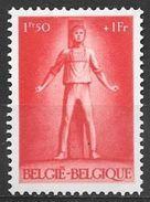 1945 1.50fr+1fr Prisoner Of War, Execution, Mint Never Hinged - Belgium