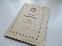 Altes Auswahlheft Infla 1922 / 23 ** / * / O Z.B. OR / Paare / HAN. Tolle Fundgrube Und Hoher Katalogwert! - Timbres