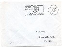 AVEYRON - Dépt N° 12 = MILLAU 1969 = FLAMME PP Codée = SECAP Multiple ' PENSEZ à INDIQUER NUMERO DEPARTEMENT - Code Postal