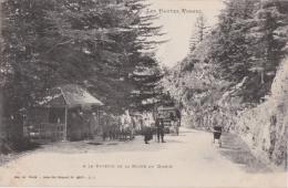 Bm - Cpa Vosges - A La Buvette De La Roche Du Diable - France