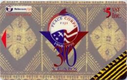 FIJI : 108 $5  Peace-corps 30y Design MINT - Fiji