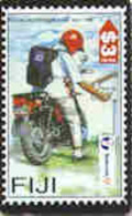FIJI : 091 $3  Postal Independence MOTO USED - Fiji