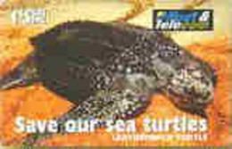 FIJI : 086 $5  Leatherback Turtle USED - Fiji