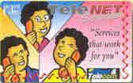 FIJI : 064A $3  TELENET Services Non Slas. USED - Fiji