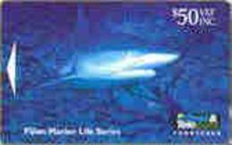 FIJI : 057 $50 Fijian Marine Life Shark USED - Fiji
