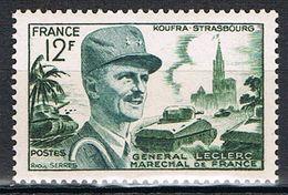 FRANCE : N° 984 ** (Maréchal Leclerc) - PRIX FIXE : 1/3 De La Cote - - Unused Stamps