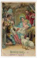 Joyeux Noel--1913--Nativité ( Moutons) - Natale
