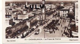 MAROC : Photo Flandrin N° 31 : Casablanca Place De France - Casablanca