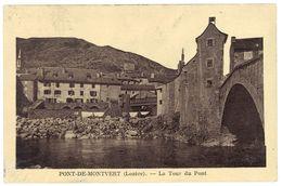Cpa Pont De Montvert - La Tour Du Pont - France