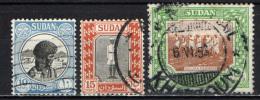 SUDAN - 1951 - IMMAGINI DEL SUDAN - USATI - Sudan (1954-...)