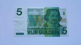 PAESI BASSI 5 GULDEN 1973 - [2] 1815-… : Kingdom Of The Netherlands