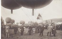 Gordon-Bennett-Wettfliegen - Zürich 1909 - Fotokarte N.5     (P-112-61107) - Montgolfières