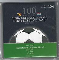 BELGIE -BELGIQUE EUROMUNT 10 Euro 2005  - 100 Jaar Derby Der Lage Landen - Belgique