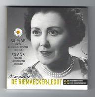 BELGIE -BELGIQUE EUROMUNT 5 Euro 2015  - Marguerite De Riemaecker - Legot - Belgique
