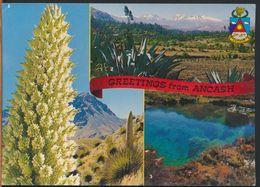 °°° 10734 - PERU - GREETINGS FROM ANCASH - 1992 °°° - Perù