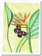 Antigua & Barbuda 2007, Postfris MNH, Flowers, Butterflies - Antigua En Barbuda (1981-...)