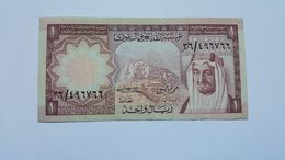 ARABIA SAUDITA 1 RIYAL - Arabia Saudita