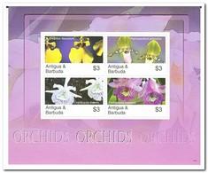 Antigua & Barbuda 2007, Postfris MNH, Flowers, Orchids - Antigua En Barbuda (1981-...)