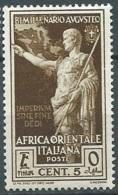 AfrIQUE Orientale Italienne -  Yvert N°  23 *    - Po56020d - Eastern Africa