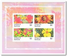 Antigua & Barbuda 2007, Postfris MNH, Flowers - Antigua En Barbuda (1981-...)