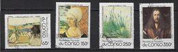 """Congo YT 520 à 523 """" Tableaux Dürer """" 1978 Oblitéré - Congo - Brazzaville"""