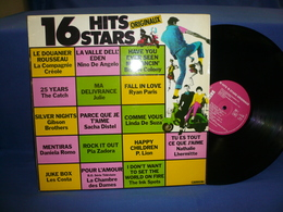 16 Hits Stars 33t Vinyle Originaux Compilation - Compilations