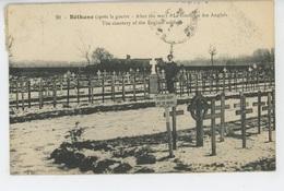 BETHUNE Après La Guerre - Le Cimetière Des Anglais - Bethune
