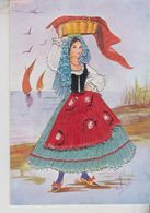 Brodé Brodèe Ricamate Embroidered Costumi Folklore Marche - Borduurwerk